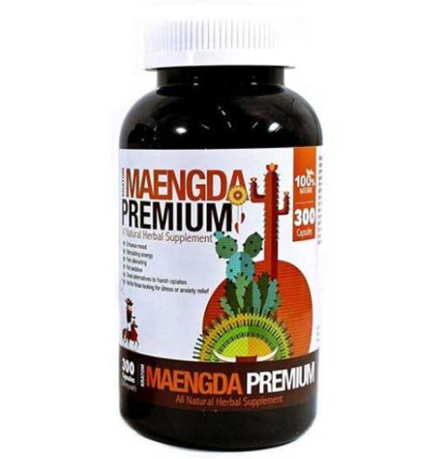 Bumble Bee Maeng Da Kratom Capsules 300 Count Bottle