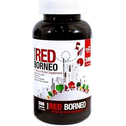 Bumble Bee Red Borneo Kratom Bottle