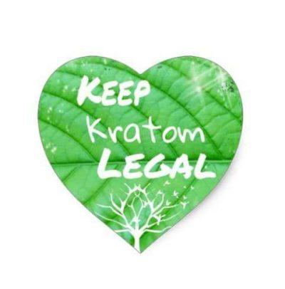 Keep Kratom Legal Heart