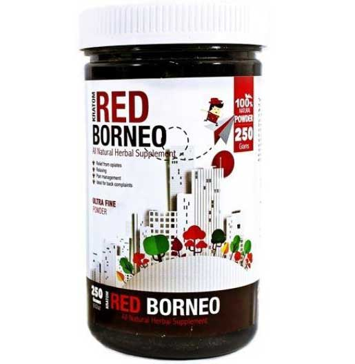 Bumble Bee Red Borneo Kratom Powder 250 grams container