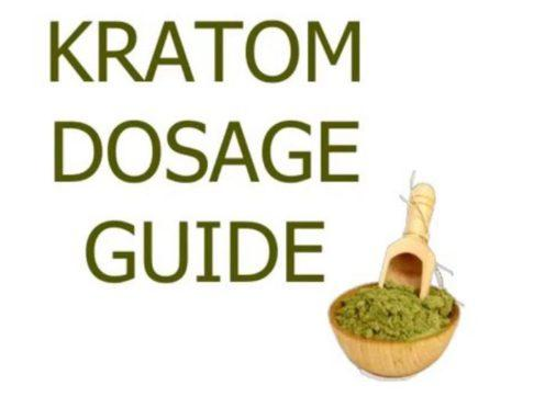 Kratom Dosage Guide Picture