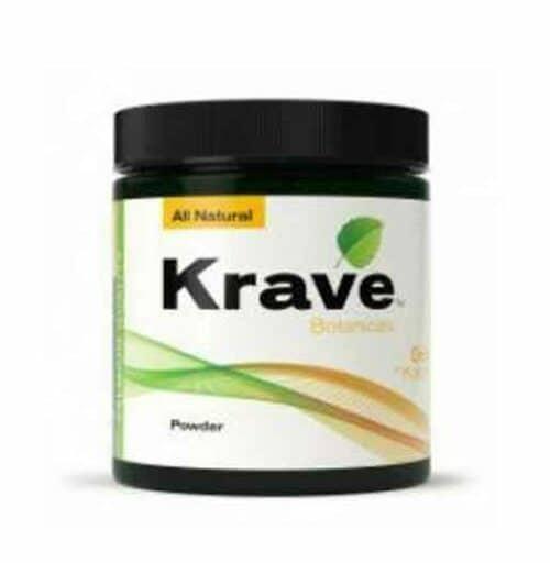Krave Kratom Maeng Da Powder 60g container front
