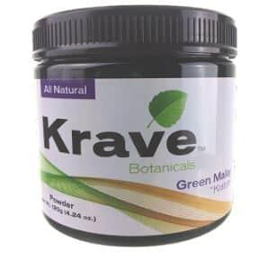 Krave Green Malay Kratom Powder 120 grams