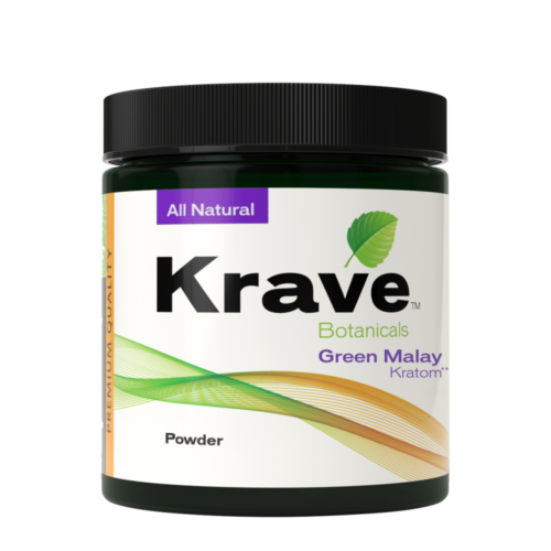 Krave Green Malay Kratom Powder