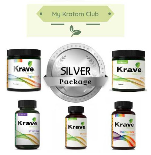 Krave Kratom Capsules and powder monthly package