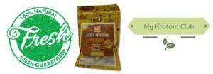 Bumble Bee Green Vein Indo Kratom guaranteed fresh from My Kratom Club