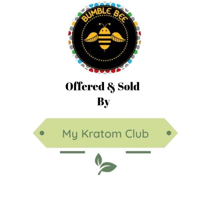 Bumble Bee Kratom offered and sold by My Kratom Club