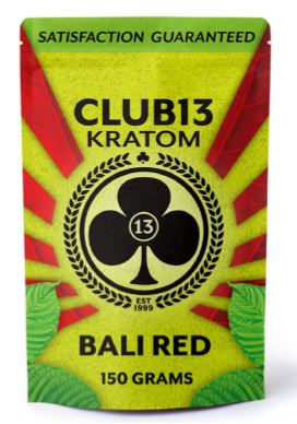 Club 13 Bali Red Kratom Powder 90 grams