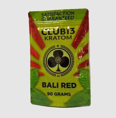 Club 13 Bali Red Kratom Powder 90 grams
