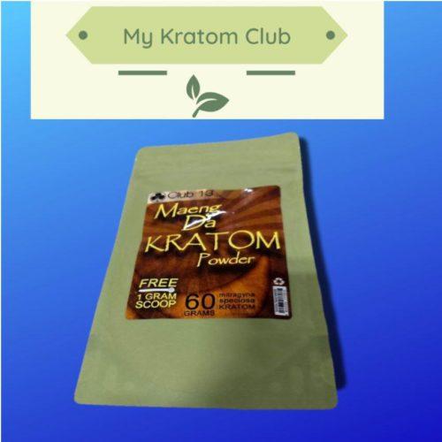 Club 13 Maeng Da Kratom Powder 60 grams with free scoop