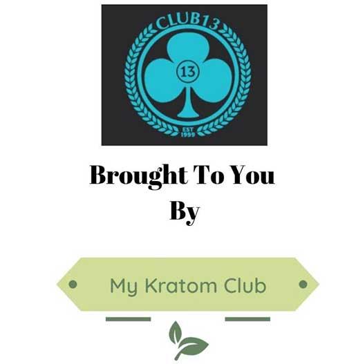Club 13 Kratom brought to you by My Kratom Club