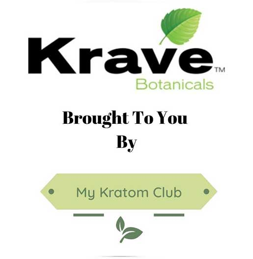 Krave Kratom brought to you by My Kratom Club