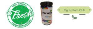 Krave Trainwreck Kratom Powder Guaranteed Freshness