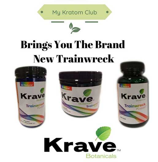 Krave Trainwreck Kratom Powder