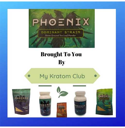 Phoenix Red Vein Kratom Powder 3 oz