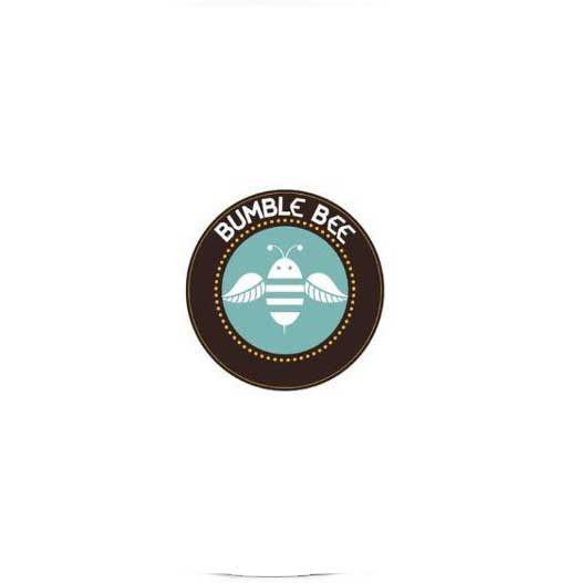 Bumble Bee Kratom light blue color logo