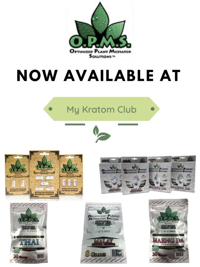 OPMS Kratom Brought To Consumers By My Kratom Club