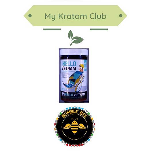 Bumble Bee Hello Vietnam Powder 250 grams offered by My Kratom Club