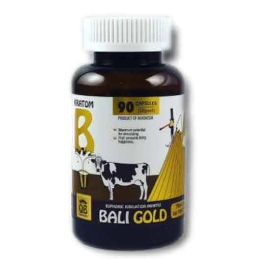 Queen Bee Bali Gold Kratom Capsules by Bumble Bee Company