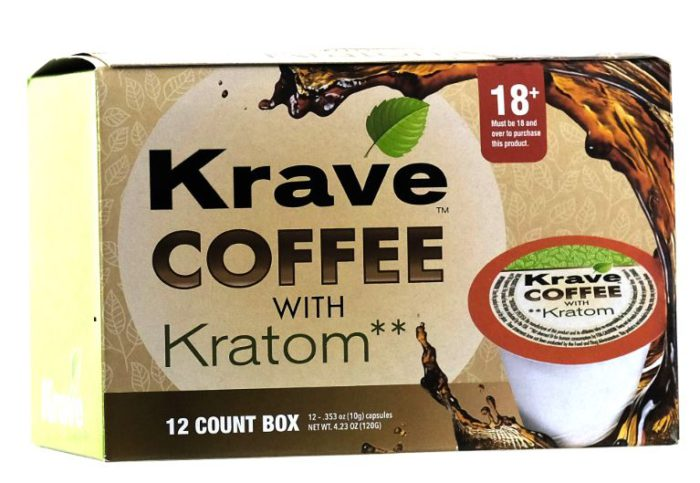 Krave Coffee With Kratom 12 Count Box