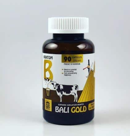 Queen Bee Bali Gold Capsules 90 Count Bottle