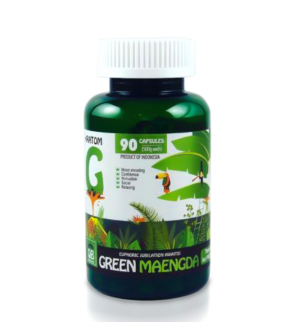 Queen Bee Green Maeng Da Capsules 90 Count