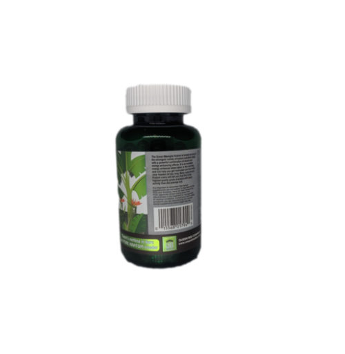 Queen Bee Green Maeng Da Kratom Capsules Back of 90 Count Bottle