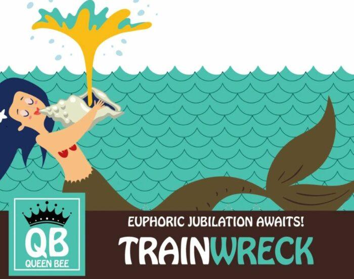 Queen Bee Trainwreck Kratom Logo