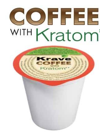 Krave Kratom Coffee Pod