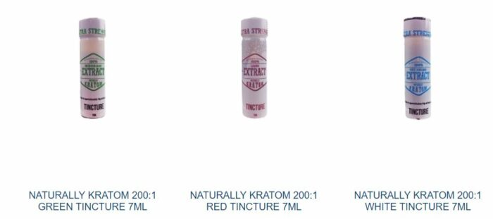 Naturally Kratom Extract Tinctures 7ml