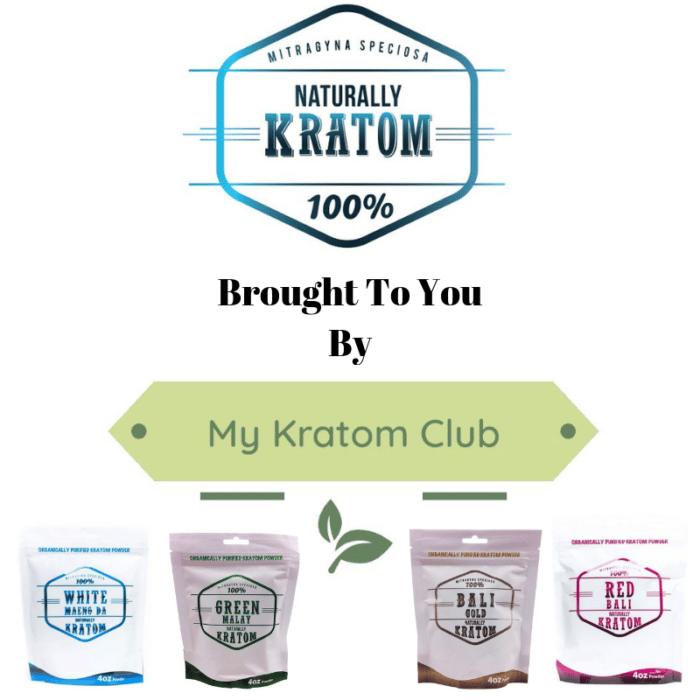 Naturally Kratom Powder By My Kratom Club