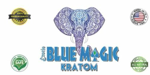 Blue Magic Kratom Logo