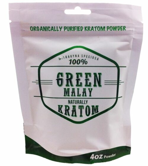 Naturally Green Malay Kratom Powder available at My Kratom Club