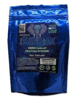 Blue-Magic-Green-Malay-150g-Powder-Bag-Front