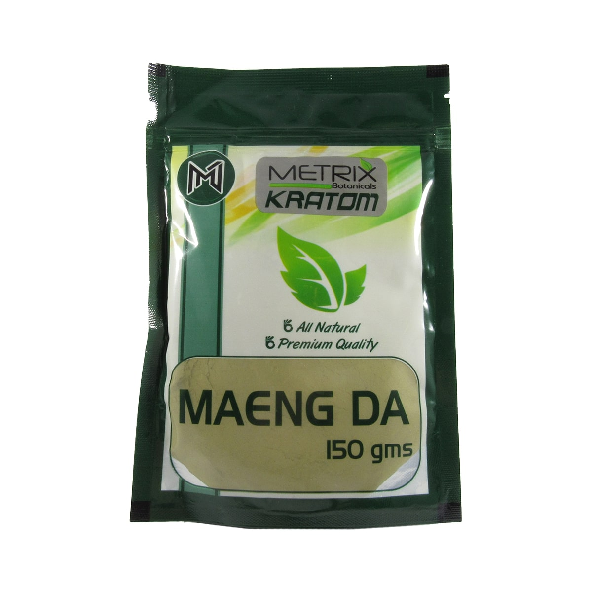 Metrix Maeng Da Kratom Powder 150g - Front