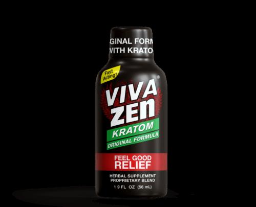 Viva Zen Kratom Extract Liquid 1.9 fl oz