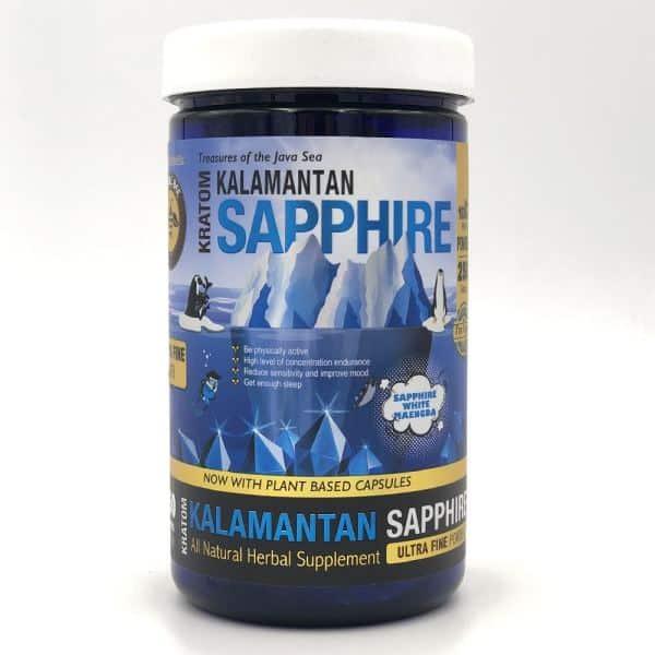 Bumble Bee Kalamantan Sapphire Kratom Powder 250g container (White Maeng Da)