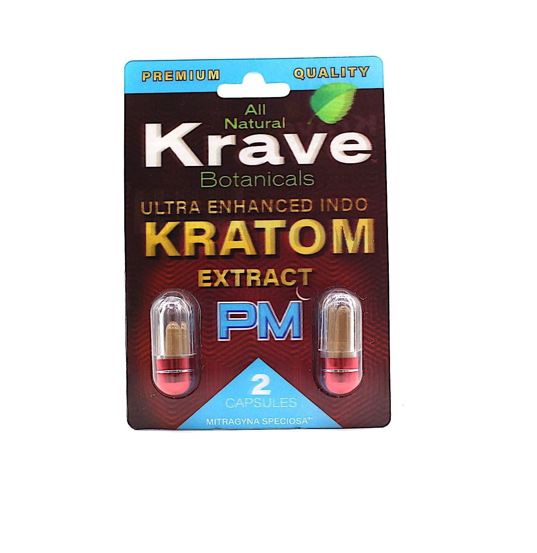 Krave Kratom Indo Extract Capsules 2 CT