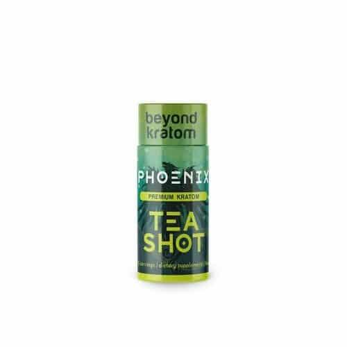 Phoenix Kratom Tea Shot 8ml front