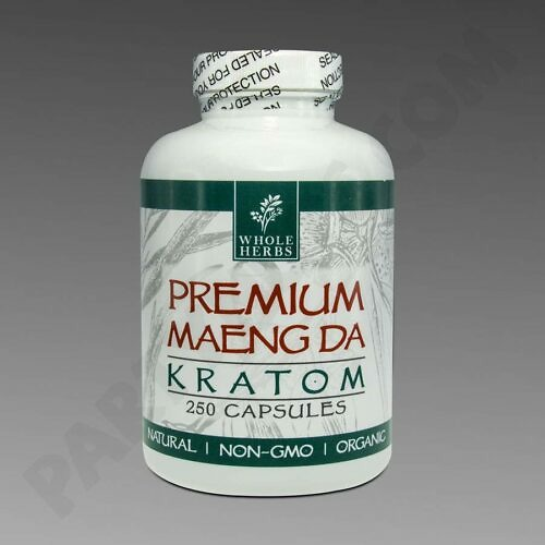 Whole Herbs Maeng Da 250 count capsules bottle