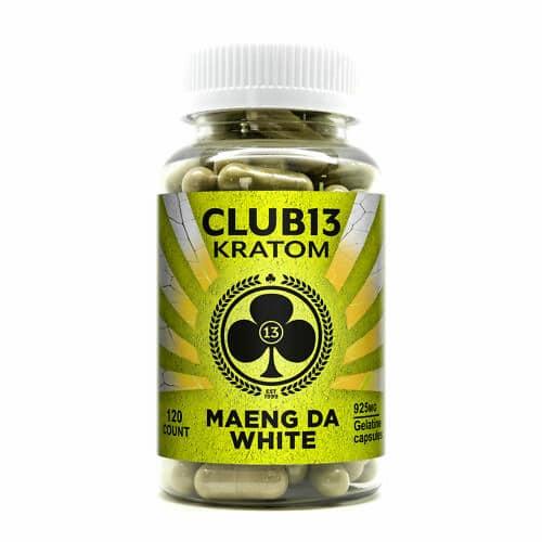 Club 13 Maeng Da White Capsules 120 CT