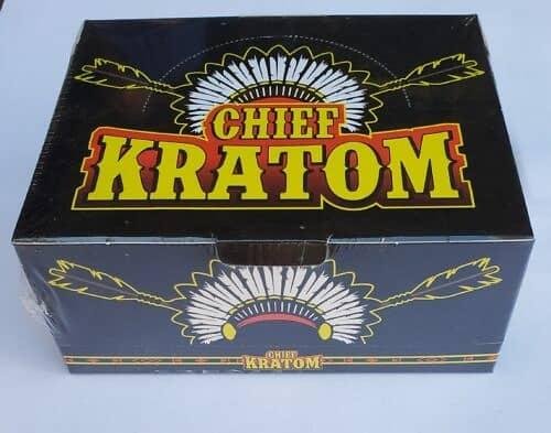 Chief Kratom Liquid Extract Box Sealed