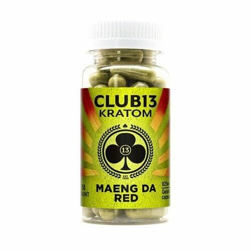 Club13 Maeng Da Red Capsules 50 CT