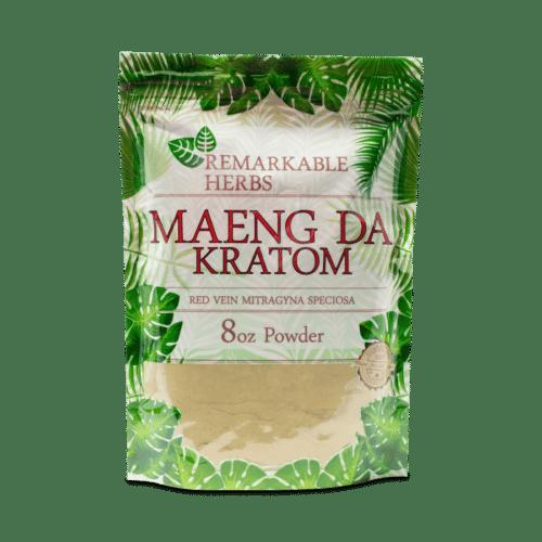 Remarkable Herb Red Maeng Da Kratom Powder 8 oz