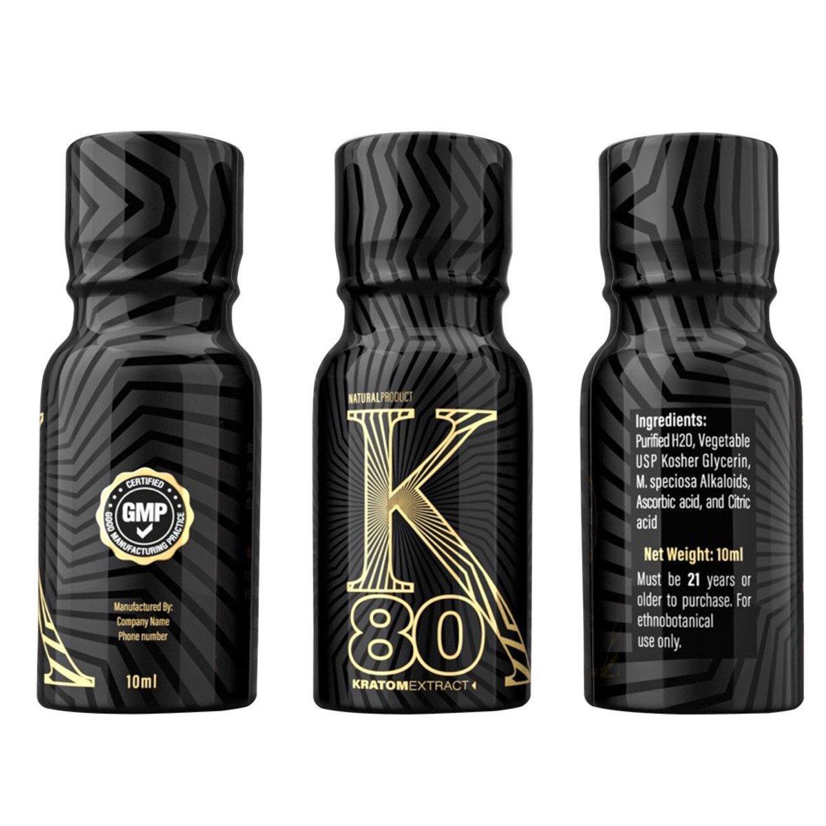 Bottles of K80